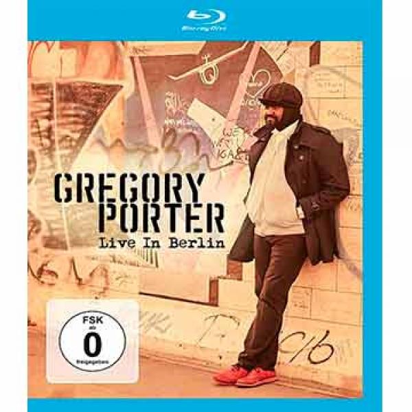 Live In Berlin (Muziek-BLU-RAY) Gregory Porter.